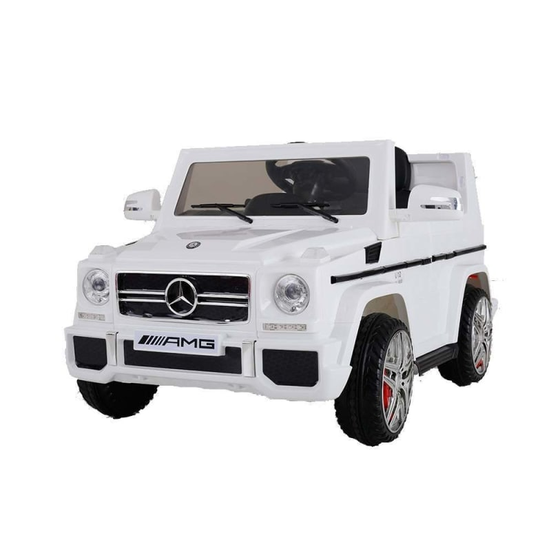 Mercedes by ZAAP G65 12v Ride On Kids Electric Battery Toy Car White