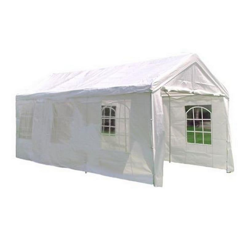 OPEN BOX Palm Springs 10' x 20' HEAVY DUTY White Party Tent Gazebo