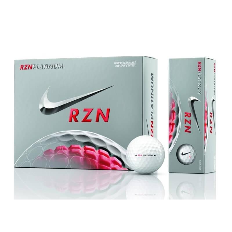 Nike RZN Platinum Golf Balls - 1 Dozen