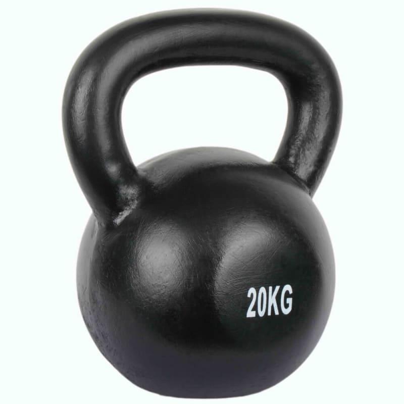 Confidence Pro 20kg Cast Iron Kettlebell Set