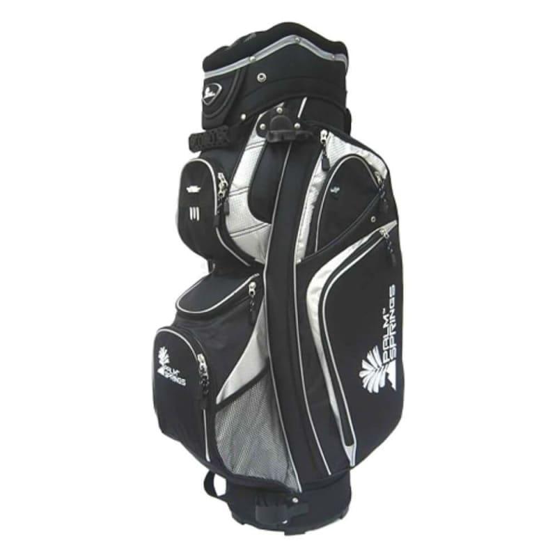 Palm Springs Golf 14 Way Divider Bag - Silver / Black