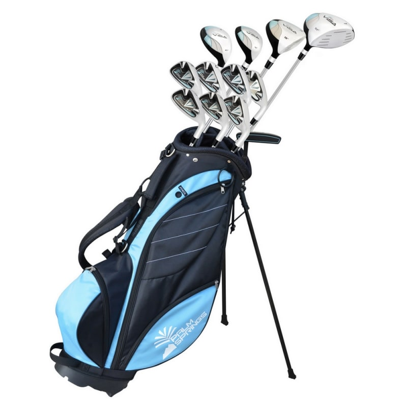 Palm Springs Golf Visa V2 Ladies All Graphite Club Set & Bag #