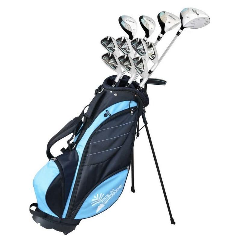 """OPEN BOX Palm Springs Golf Visa V2 Ladies All Graphite Club -1"""" Set & Bag"""