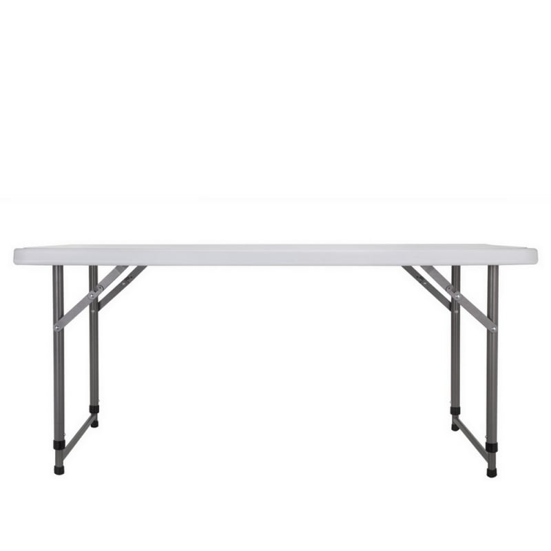 Palm Springs Portable 4ft Adjustable Height Plastic Folding Table #3