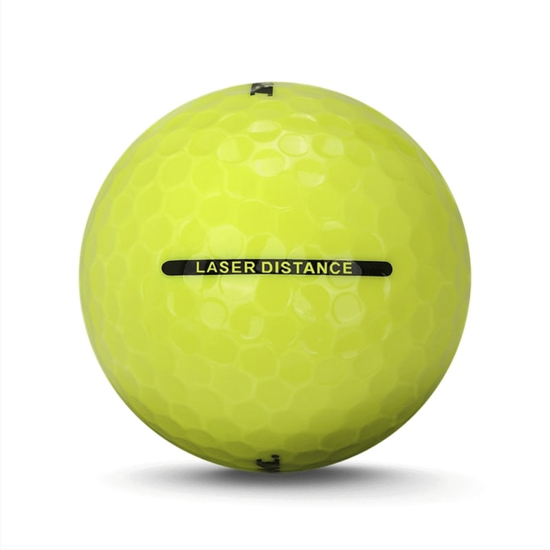 72 Ram Golf Laser Distance Golf Balls - Yellow
