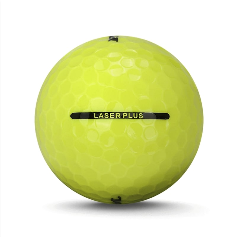 72 Ram Laser Plus Golf Balls - Yellow