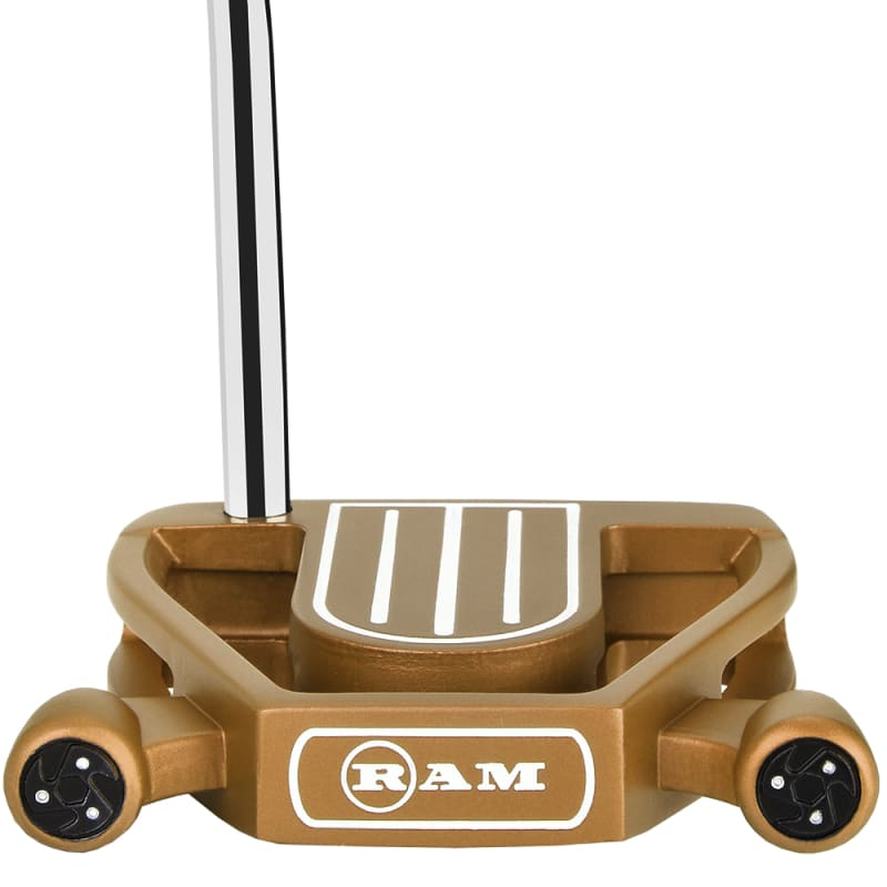 Ram Golf Laser Model 1 Putter with Advanced Perimeter Weighting - Copper #1
