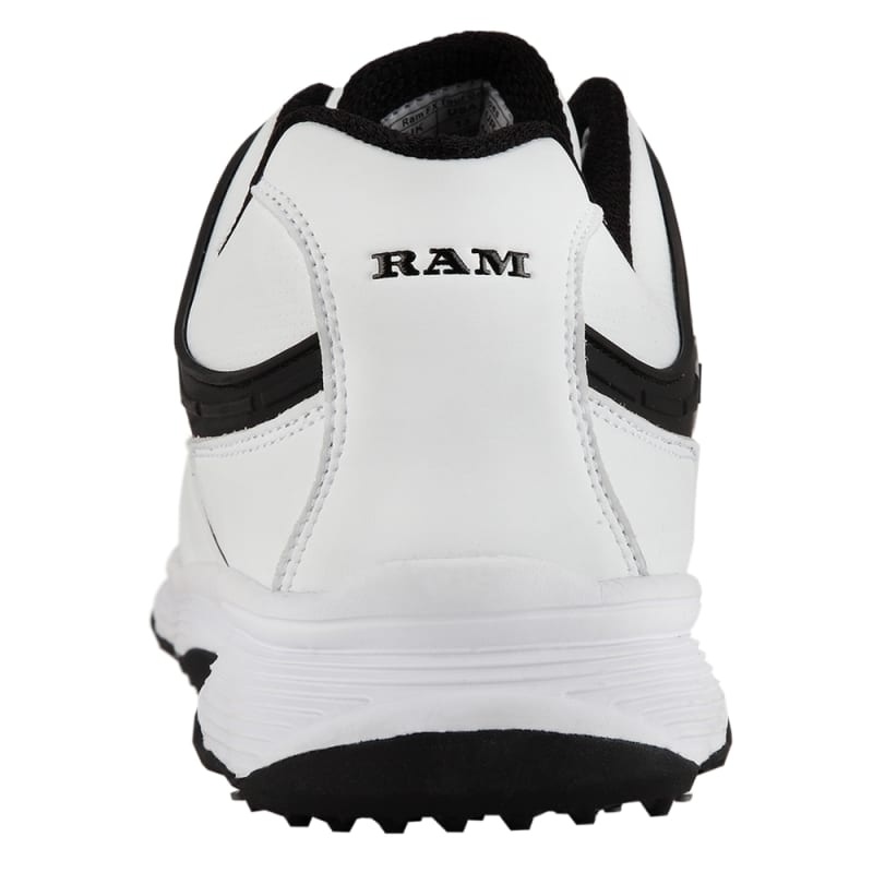 Ram Golf FX Tour Mens Waterproof Golf Shoes - White / Black #3