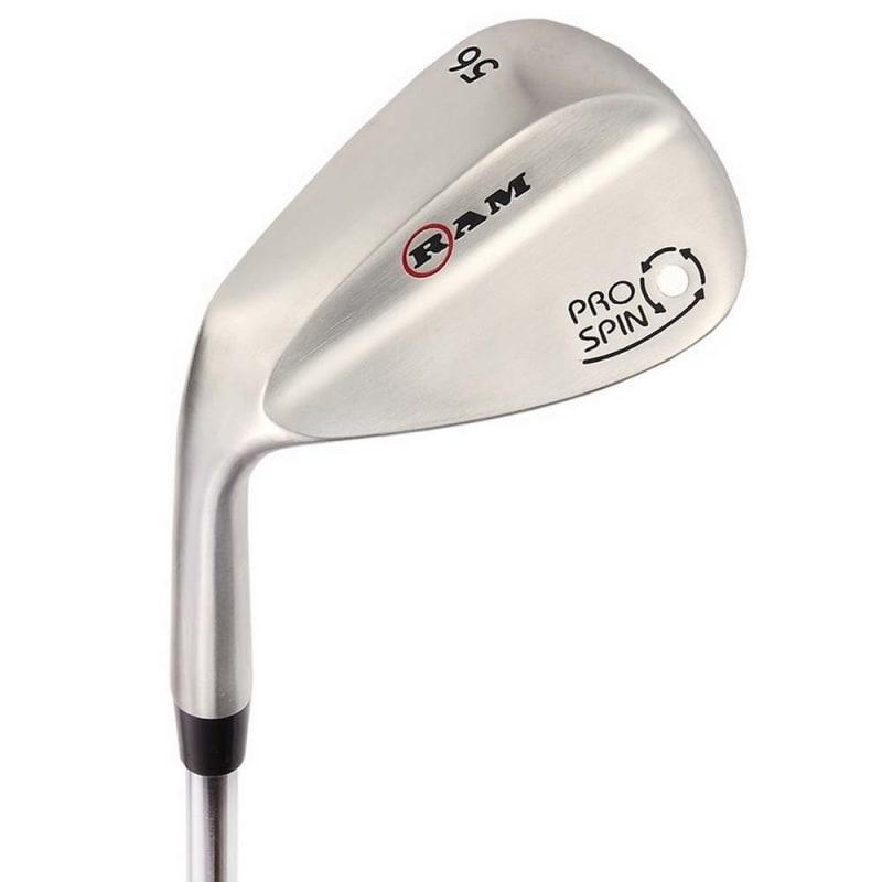 Ram Golf Pro Spin 3 Wedge Set - 52° Gap, 56° Sand, 60° Lob Wedges - Mens Left Hand #1