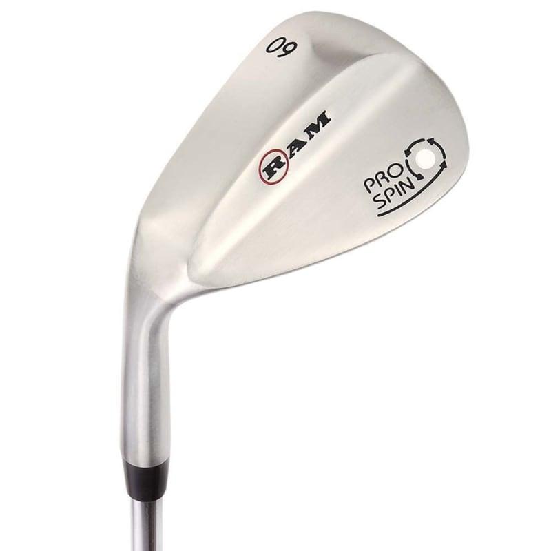 OPEN BOX Ram Golf Pro Spin 3 Wedge Set - 52° Gap, 56° Sand, 60° Lob Wedges - Mens Left Hand #2