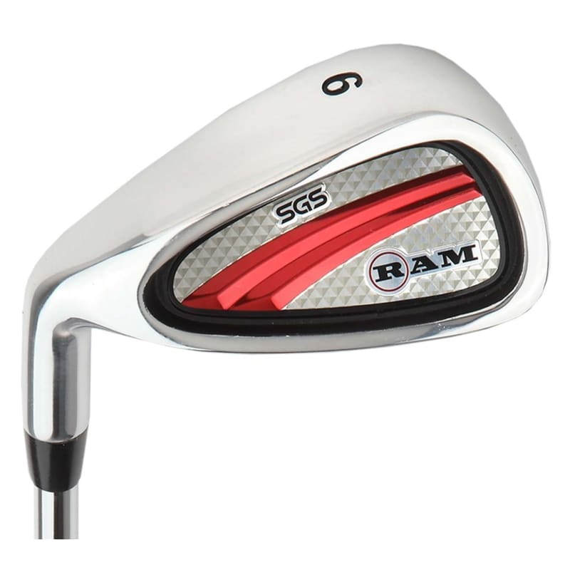 Ram Golf SGS Mens Golf Clubs Set with Stand Bag - Steel Shafts - LEFTY #3