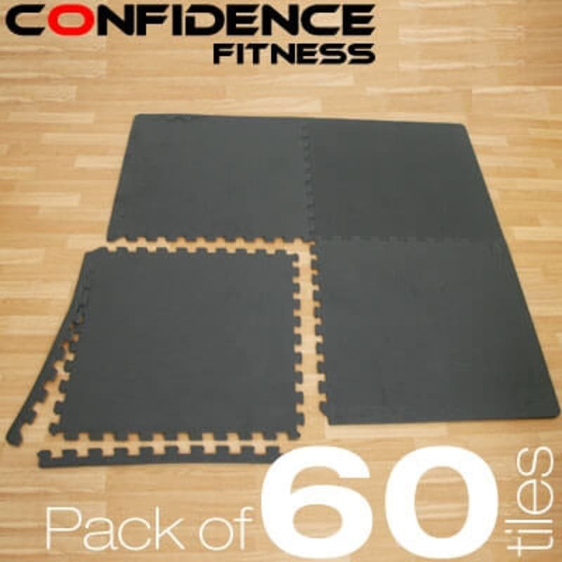 Confidence EVA Floor Mat / Guards - 60 Tiles