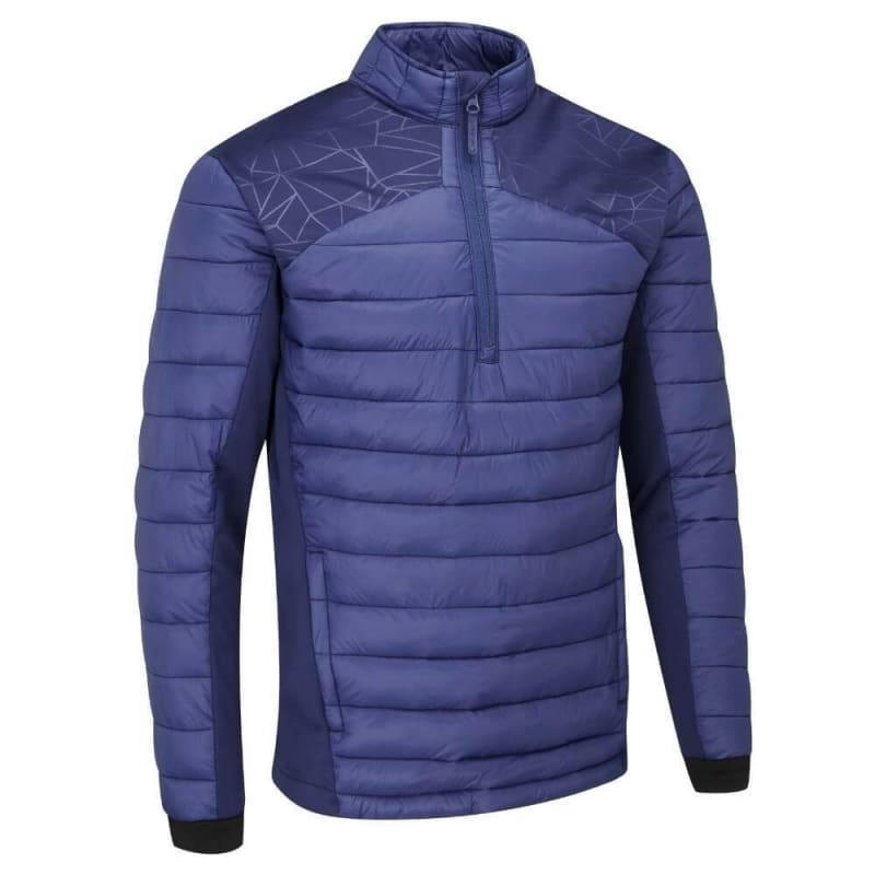 Stuburt Golf Evolve Sport Half Zip Padded Jacket Navy