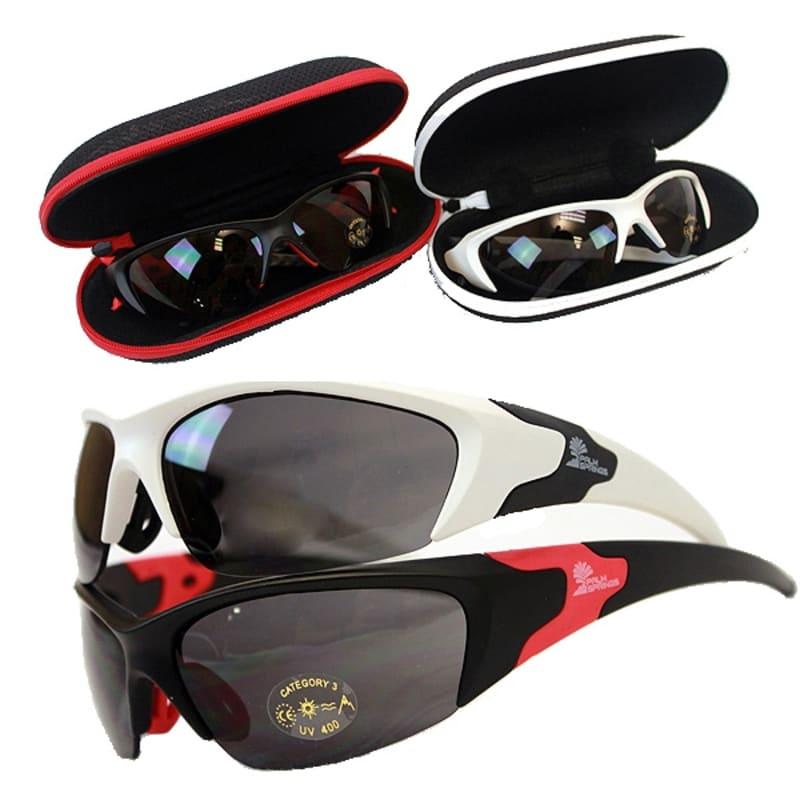 2 Pairs Palm Springs Performance Sunglasses #