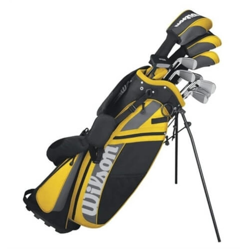 Wilson Golf ULTRA DCG Mens Left Hand Golf Clubs Set + Bag