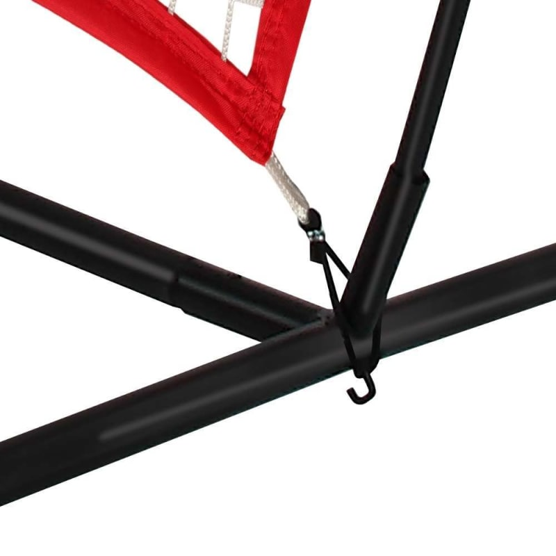 Wodoworm 7ft x 7ft Quick Up Sports Bow Frame and Net V2 - Practice/Protective Net Screen for Baseball, Softball and Other Sports #2