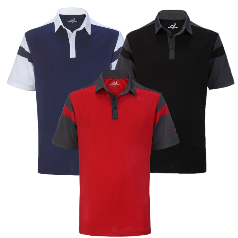 Woodworm Tour Performance V4 Polo Shirts - 3 Pack
