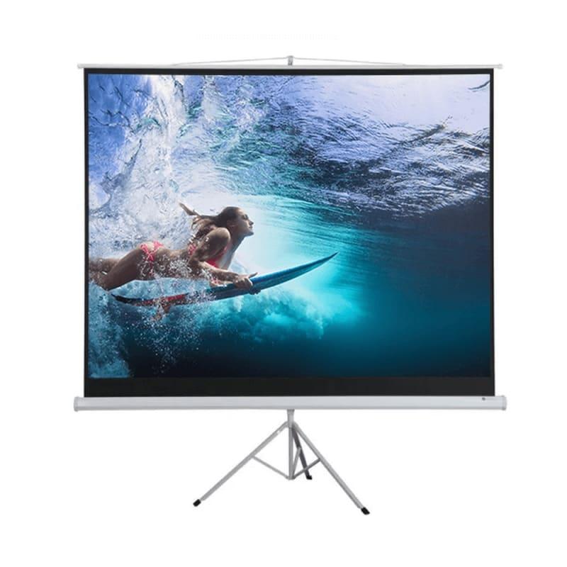 "Homegear 100"" 4:3 Tripod Projector Screen HD #1"