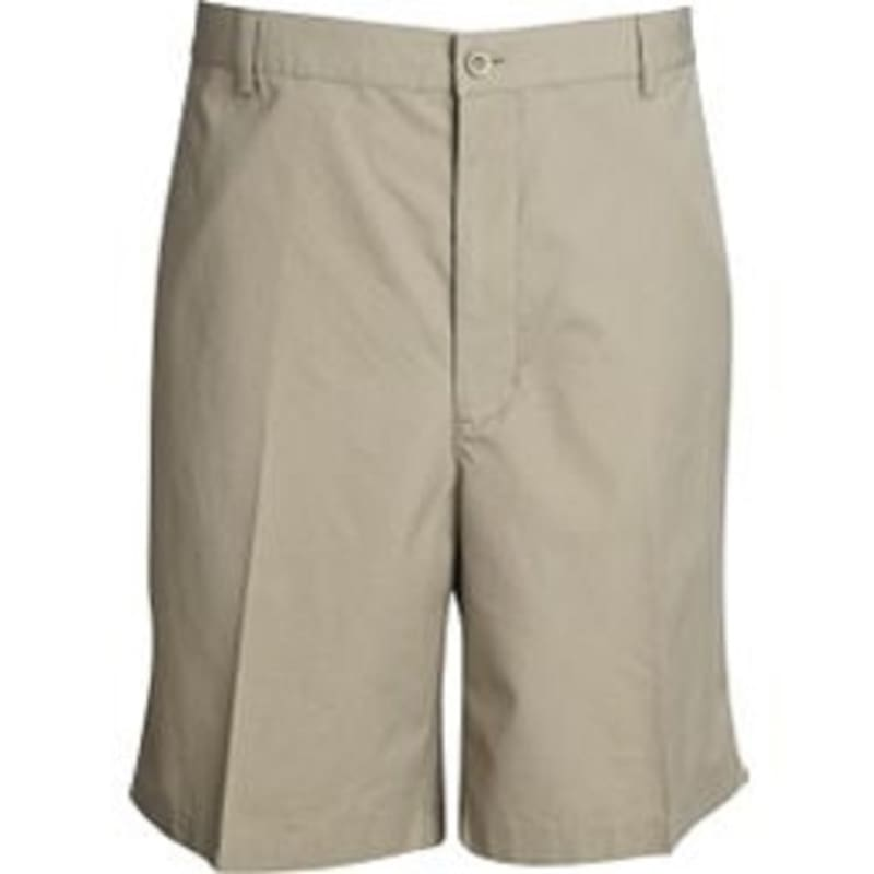 Palm Springs DryFit Flat Front Golf Shorts Khaki