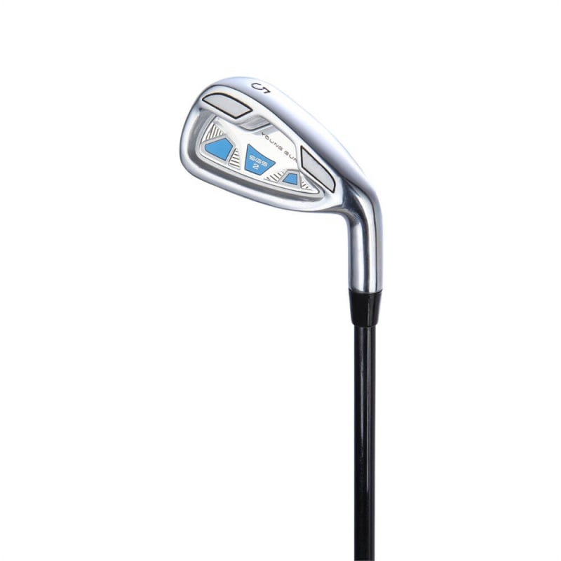 57ad76a22f6c Young Gun Junior Irons - Left Hand - Sand Wedge - Blue Ages 6-8 just ...