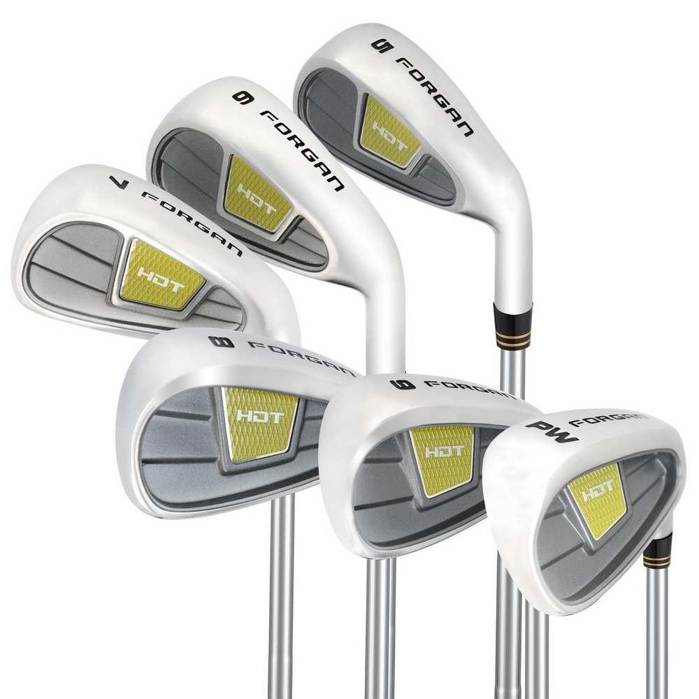 OPEN BOX Forgan Golf HDT Iron Set-Standard Lie MRH (5-PW) - Regular Flex & Steel Shaft