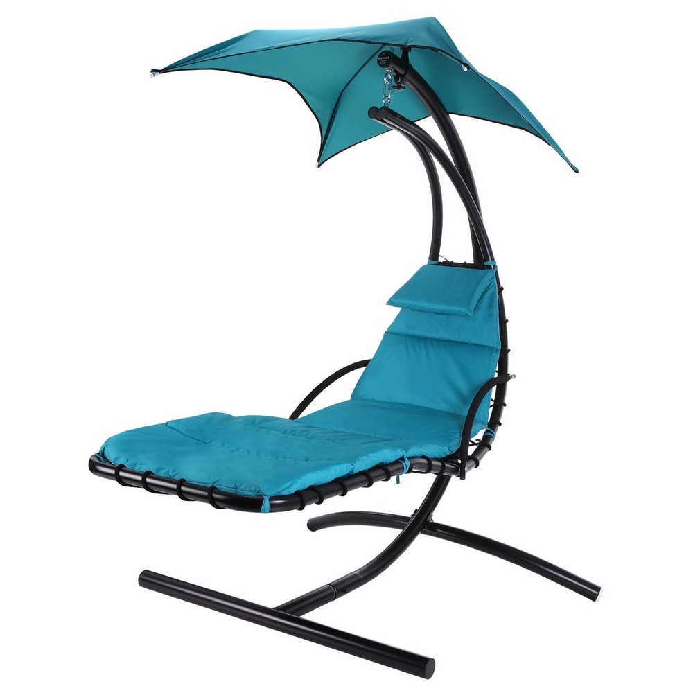Palm Springs Outdoor Hanging Chair Recliner Teal Golf Outlets Of America Golf Outlets Of America