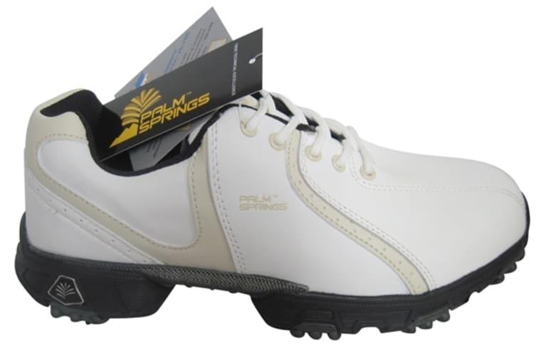 Palm Springs Lady Golf Shoes White/Tan