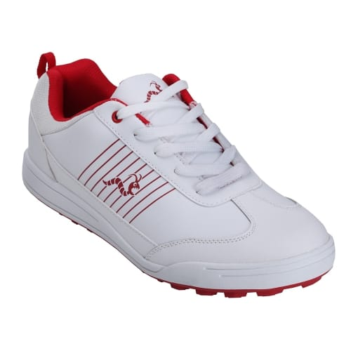 Woodworm Surge Mens Golf Shoes White/Red