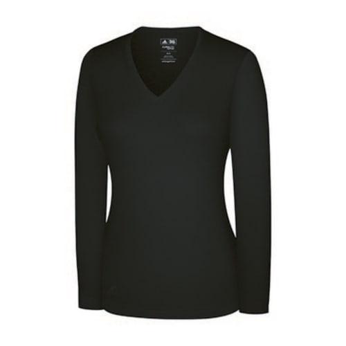 Adidas Womens Fashion Performance V Neck Sweater