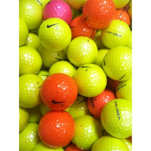 24x Optic Mix Lake Golf Balls - Grade AAA