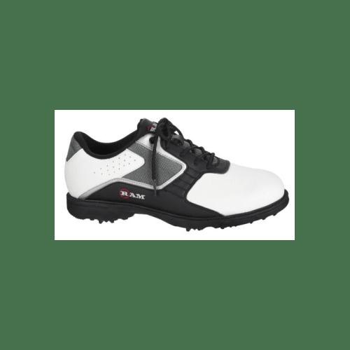Ram Men's Cato Golf Shoes, White