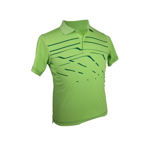Adidas Boys ClimaLite Print Polo