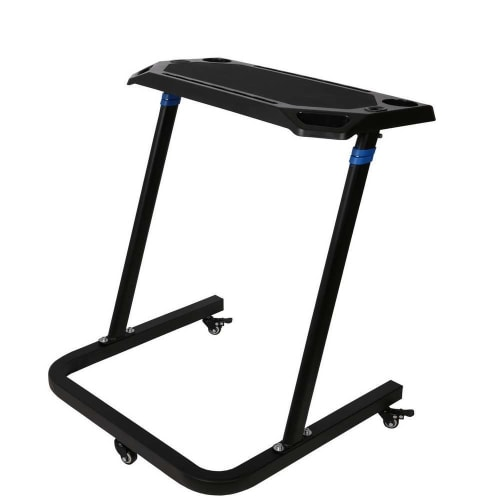 OPEN BOX Confidence Fitness Adjustable Height Treadmill Desk - Walk/Stand While You Work!