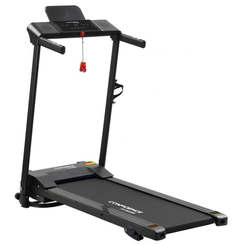 Confidence Fitness Ultra 200 Treadmill Electric Motorized Running Machine Black