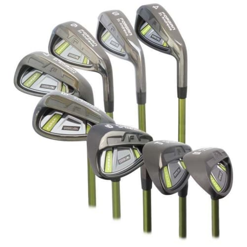 Forgan of St Andrews IWD2 Black Iron 4-SW Left Hand Set - Graphite Shaft and Regular Flex