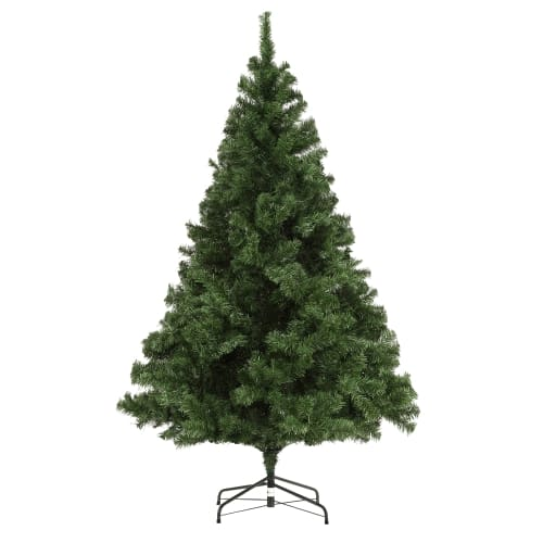 OPEN BOX Homegear Luxury 1000 Tip 6 Foot Artificial Christmas Tree with Metal Stand