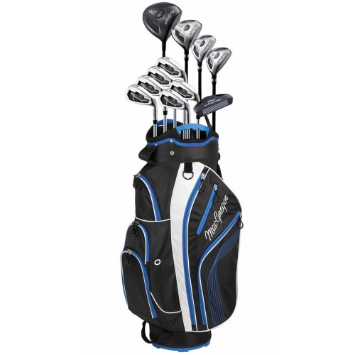 MacGregor DCT2000 Premium Golf Package Set with Titanium Driver and Stainless Clubs, All Graphite Shafts, Regular Flex