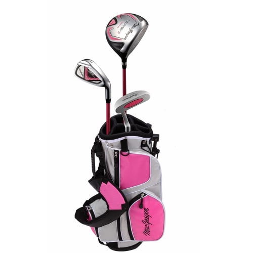 MacGregor Tourney II Junior Golf Clubs Package Set for Girls Ages 3-5