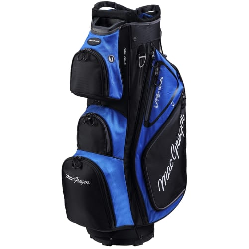"""MacGregor Golf VIP Deluxe 14-Way Cart Bag, 9.5"""" Top"""
