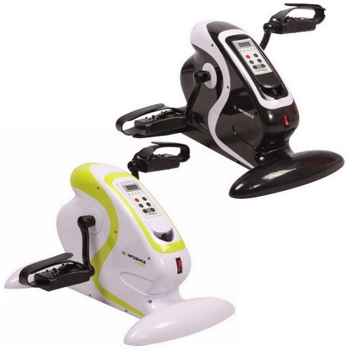 OPEN BOX Confidence Fitness Motorized Electric Mini Exercise Bike