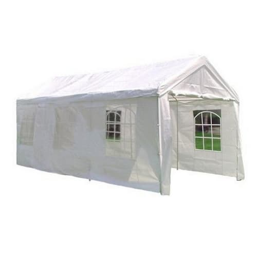 OPEN BOX Palm Springs 10' x 20' HEAVY DUTY White Party Tent Gazebo