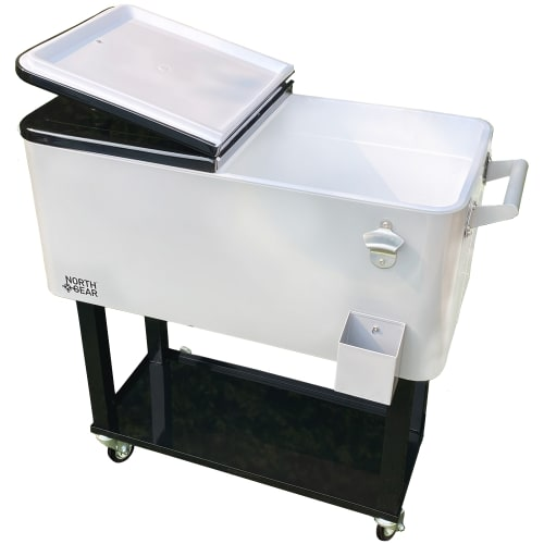 Palm Springs Outdoor 80 Quart Rolling Cooler