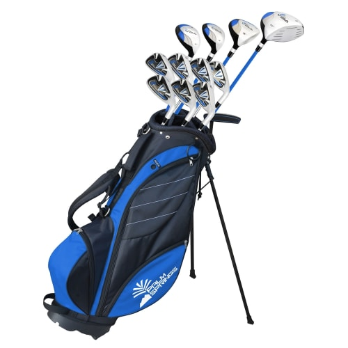 Palm Springs Golf Visa V2 Mens Graphite/Steel Club Set & Bag