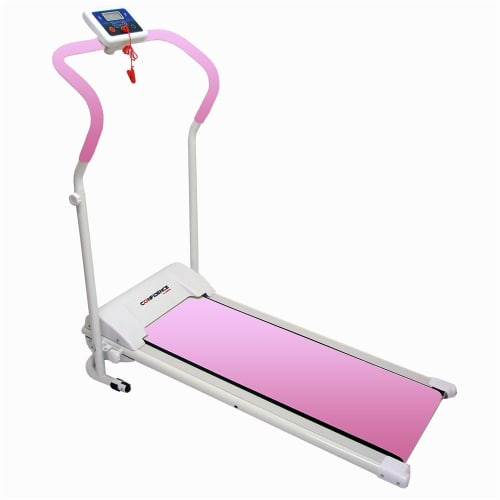 Confidence Power Plus Motorized Treadmill Pink