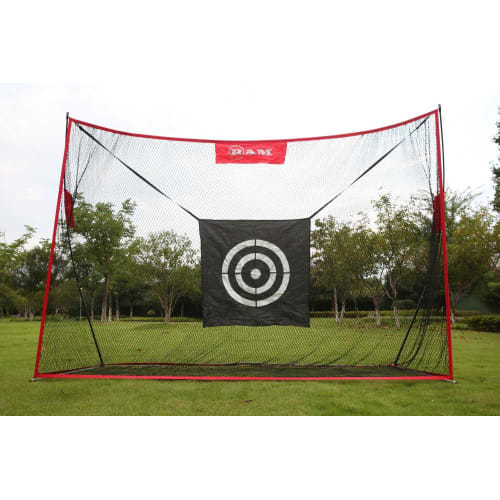 Ram Golf Deluxe Extra Large Portable Golf Hitting Practice Net With Target