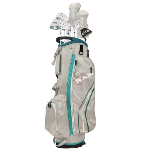 Ram Golf Accubar 13pc Petite Golf Clubs Set - Graphite Shafted Woods and Irons - Ladies Right Hand