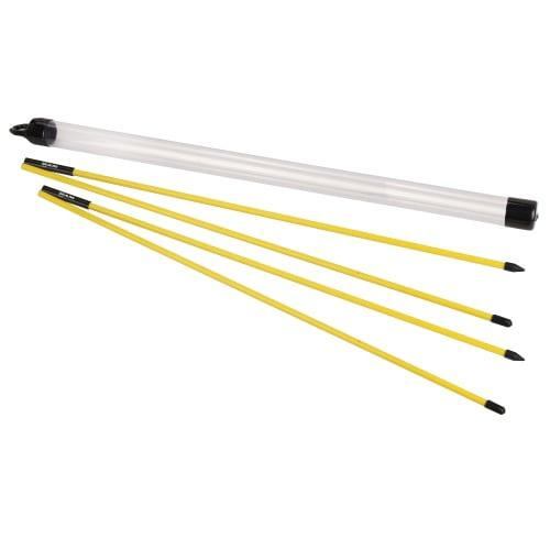 2x Ram Golf Folding Alignment Sticks / Practice Aim Rods