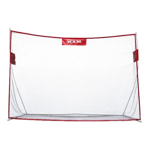 OPEN BOX Ram Golf Deluxe Extra Large Portable Golf Hitting Practice Net