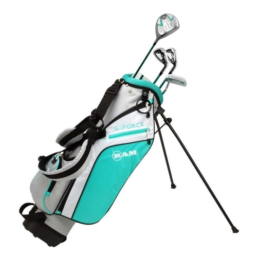 Ram Golf Junior G-Force Girls Golf Clubs Set with Bag - Lefty Age 4-6