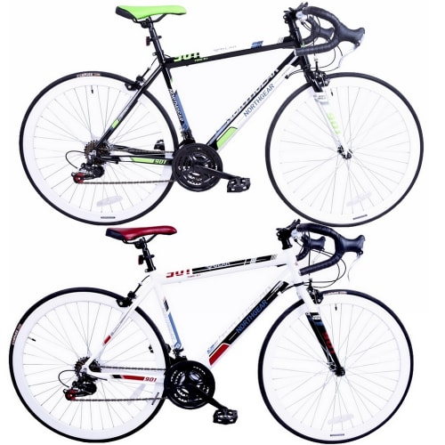 North Gear Alloy 700c Road Bike -  with Shimano Components
